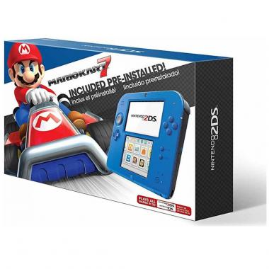 Nintendo 2Ds Electric Blue  Con Mario Kart 7