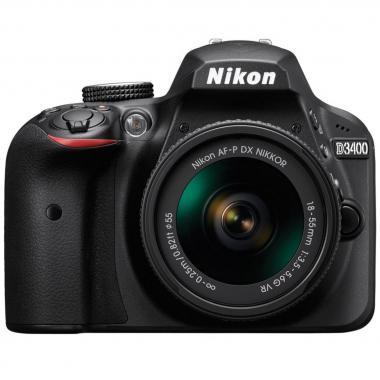 Cámara Nikon 18-55mm Vr Af-P Dx D3400 B