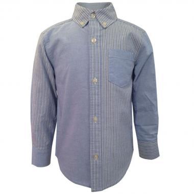Camisa Texturas Combinadas Carters