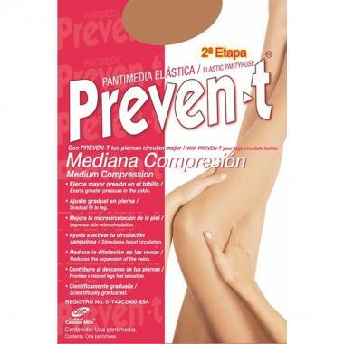 Pantimedia Mediana Compresión Prevent-T