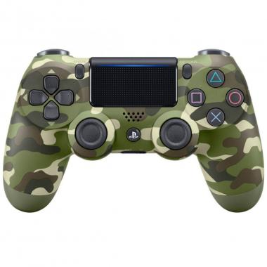 Ps4 Control Dualshock4 Green Camouflage