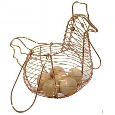 Canasta porta huevos gallina Reimart fh-51