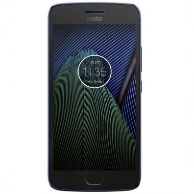 Celular Motorola Xt1680 Moto G5 Plus Azul En R9 (Telcel)