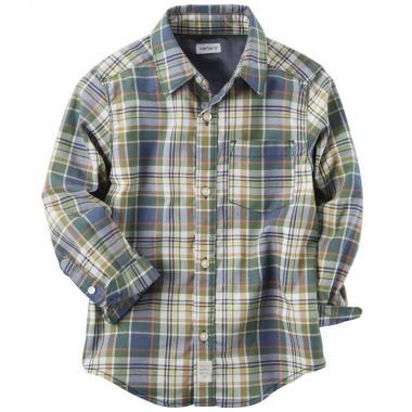 Camisa a cuadros Carters