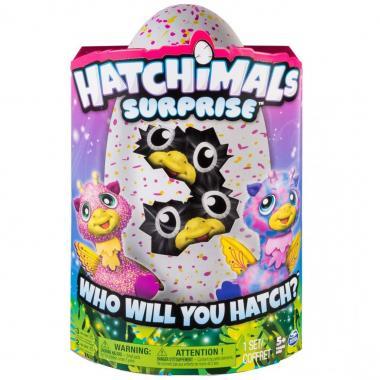 Hatchimals Huevo Sorpresa Rosa Spin Master