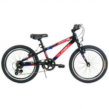 Bicicleta Racing Negro R20 Turbo