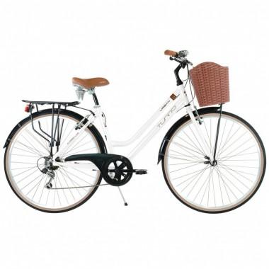 Bicicleta Urban 1.1 Blanca R700 Turbo