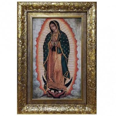 Virgen De Guadalupe Marco De 50 Cm Power