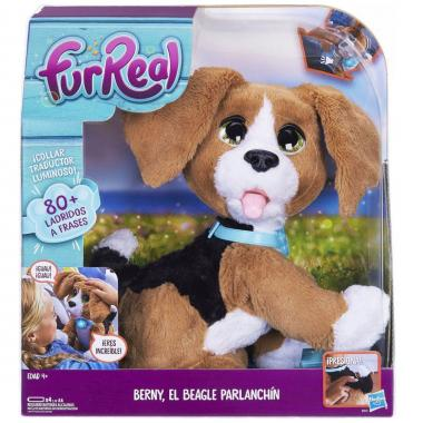 Furreal Berny El Beagle Parlanchín Hasbro