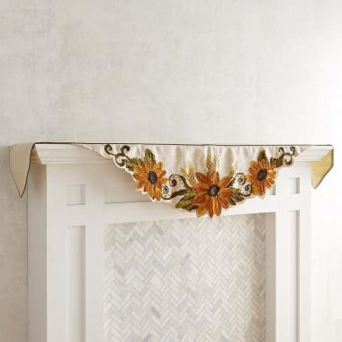 Mantel Individual Scarf Sunflowers Pier 1 Imports