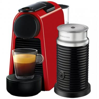 Máquina de café Nespresso Essenza mini Red Combo