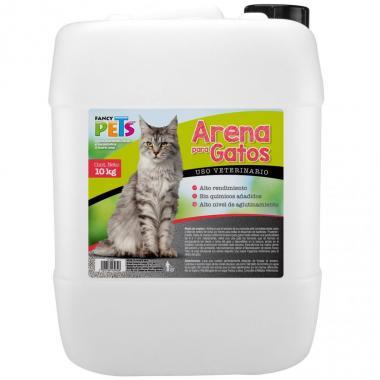 Arena P/Gato Garrafa 10 Kg Fancy Pets Mod. Fl 3932