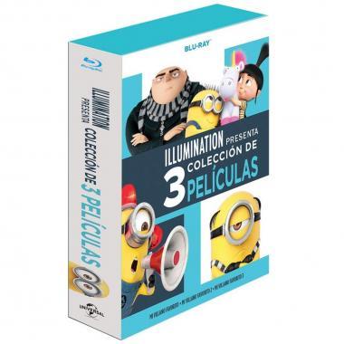 Blu Ray Boxset Mi Villano Favorito 1 A 3