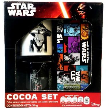 Cocoa Set Star Wars Capitan Phasm Y Villanos Disney