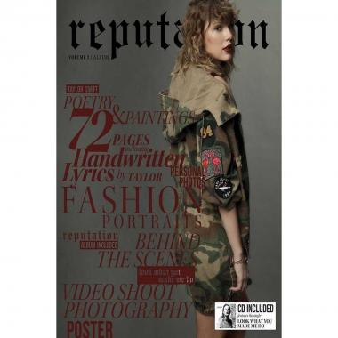 Cd + Revista Taylor Swift Reputation Volumen 2