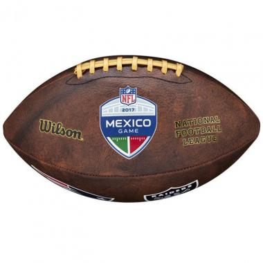 Balón Nfl Mexico Game Ne Vs Raid Wilson