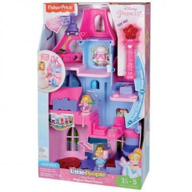 Fisher Price Little People Disney Princesas Palacio Varita Mágica Mattel