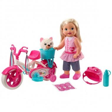 Little Mommy Paseo En Bici Mattel