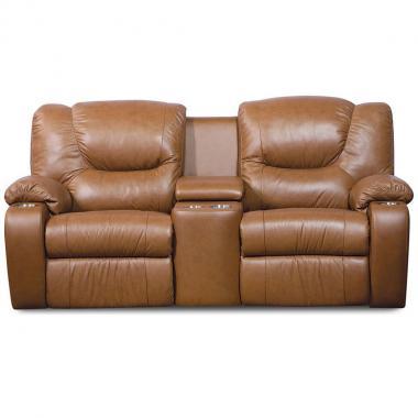 Consola Love Seat W Cupholder Dugan 41012 Palliser