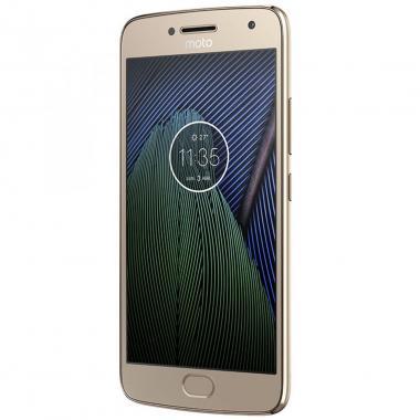 Celular Motorola Xt1680 Moto G5 Plus Color Dorado R9 (Telcel)