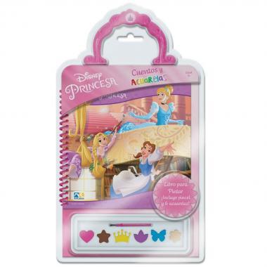 Cuentos Y Acuarelas Princesas Novelty