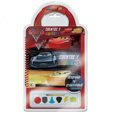 Cuentos Y Acuarelas Cars 3 Novelty