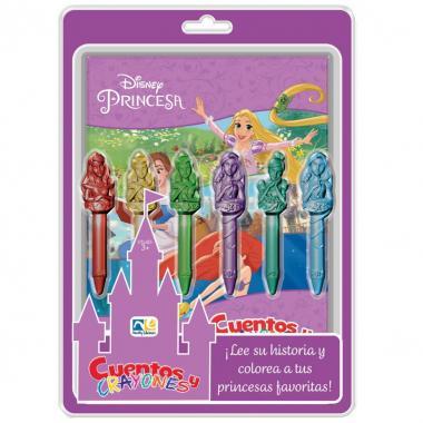 Cuentos Y Crayones Princesas Novelty