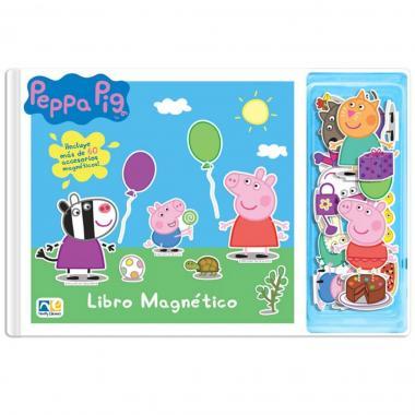 Libro Magnético Peppa Novelty