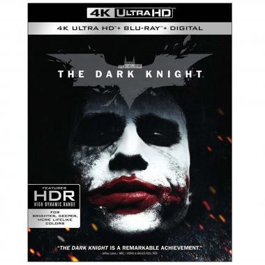 Blu Ray 4k Uhd + Blu Ray Batman El Caballero De La Noche