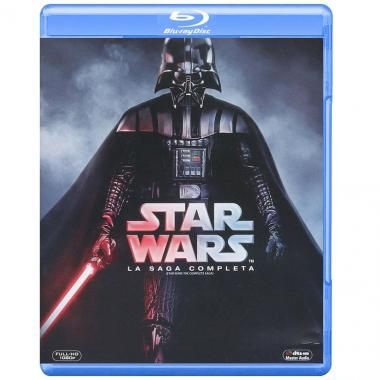 Blu Ray Star Wars La Saga Completa