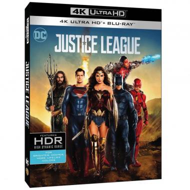 Blu Ray 4k Uhd + Blu Ray Liga De La Justicia