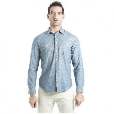 Camisa Chambray Slim Dockers