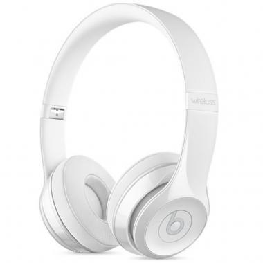Beats Solo3 Wireless On-Ear Headphones - Gloss Whi