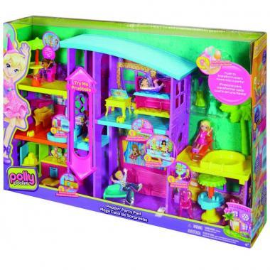 Polly Pocket Mega Casa De Sorpresas Mattel
