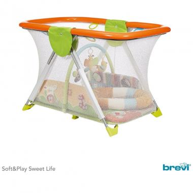 Corral Soft & Play Sweet Life Brevi