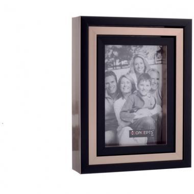 Porta Retrato Para 3 Fotos Poliestireno Y Vidrio Noritex