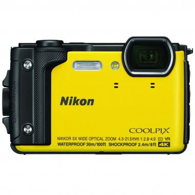 Cámara Nikon 16mp Lcd 3 Wifi Sd W300 Y