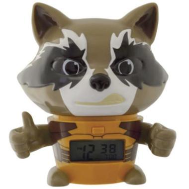 Despertador Infantil Bulb Botz Rocket Raccoon 5.5