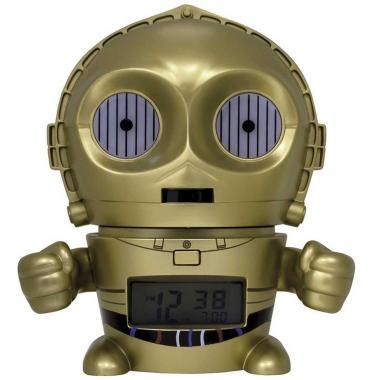 Despertador Infantil Bulb Botz Star Wars C-3PO 5.5