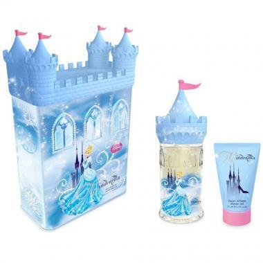 Fragancia  Infantil Cinderella Castle Set Tin Can Edt 50ml Disney