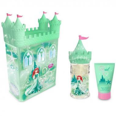 Fragancia Infantil Ariel Castle Set Tin Can Edt 50ml Disney