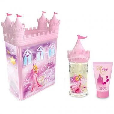 Fragancia Infantil  Aurora Castle Set Tin Can Edt 50ml Disney
