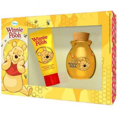Fragancia Infantil Winnie The Pooh Set Edt 50ml + Shower Gel Disney