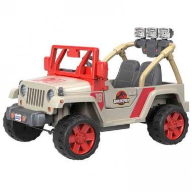 Montable Jurassic Park Jeep Wrangler Mattel