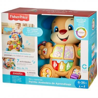 Fisher Price Laugh & Learn Perrito Andadera De Aprendizaje Mattel