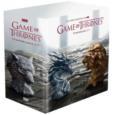 Dvd Game Of Thrones - Temporada 1 A 7