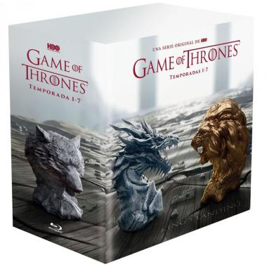 Blu Ray Game Of Thrones - Temporada 1 A 7