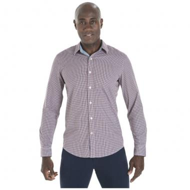 Camisa Slim Elbow Patch Ls Alpha Dockers