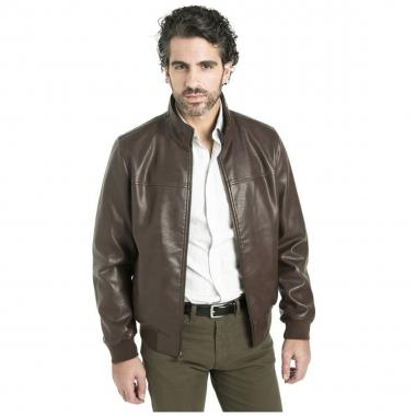 Chamarra Leather Bomber Dockers