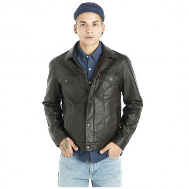 Chamarra Faux Leather Trucker Levi's